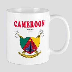 Cameroon Coat Of Arms Designs Mug
