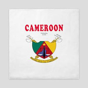 Cameroon Coat Of Arms Designs Queen Duvet