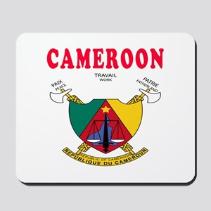 Cameroon Coat Of Arms Designs Mousepad