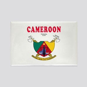 Cameroon Coat Of Arms Designs Rectangle Magnet