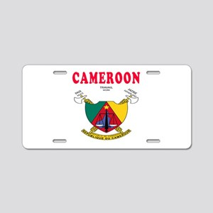 Cameroon Coat Of Arms Designs Aluminum License Pla