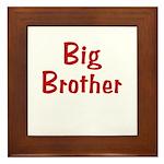 Big Brother Framed Tile