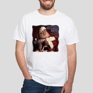 Misplaced Pants Santa T-Shirt