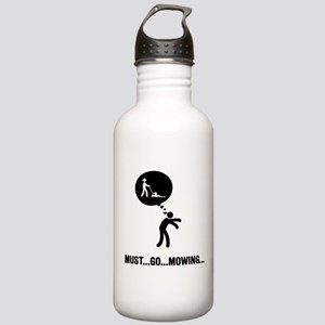 Lawn Mowing Stainless Water Bottle 1.0L