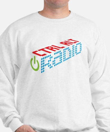 Ctrl Alt Radio Main Logo Sweater