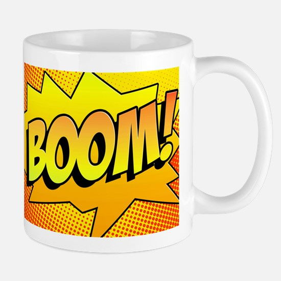 BOOM Comic Sound Effects Mug