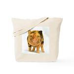 Micro pig looking messy Tote Bag