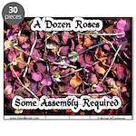 A Dozen Roses Puzzle
