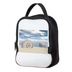 Beach of Shells Neoprene Lunch Bag