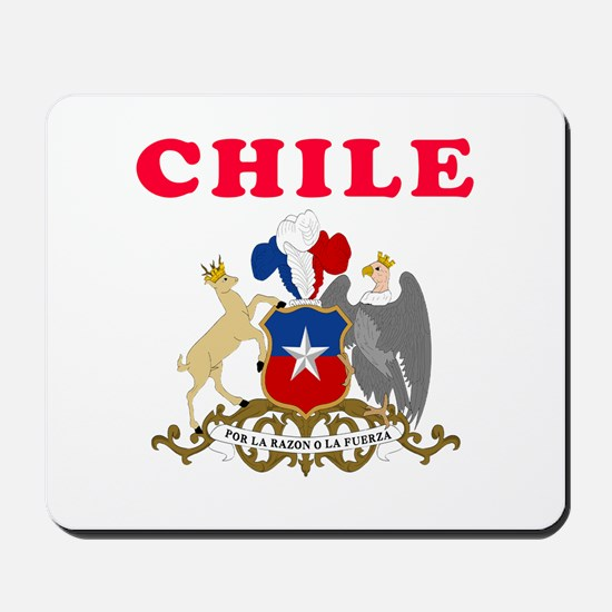 Chile Coat Of Arms Designs Mousepad