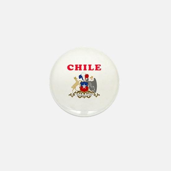 Chile Coat Of Arms Designs Mini Button