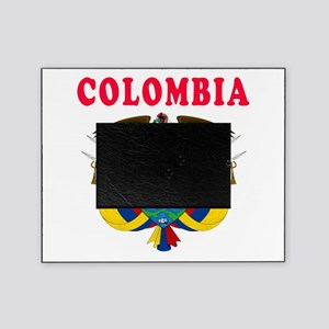 Colombia Coat Of Arms Designs Picture Frame