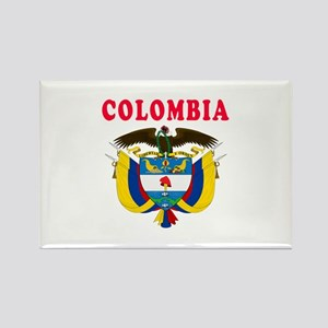 Colombia Coat Of Arms Designs Rectangle Magnet