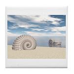 Beach of Shells Tile Coaster