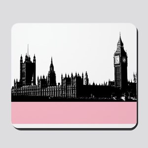 London's Westminster Silhouette Mousepad