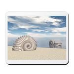 Beach of Shells Mousepad