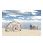 Beach of Shells Postcards (Package of 8)