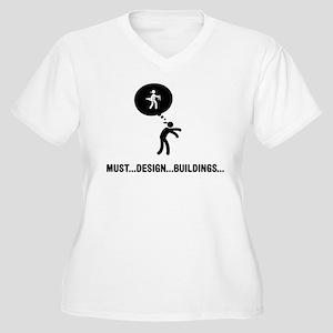 Architect Women's Plus Size V-Neck T-Shirt