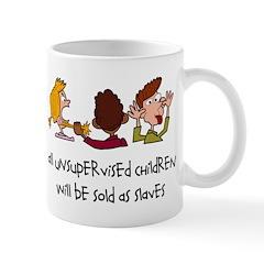 Unsupervised Children Mug