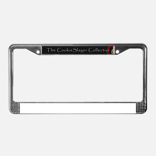 The CookieSlayer Collective License Plate Frame