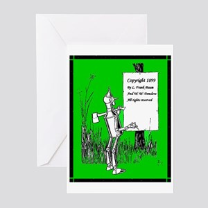 Tin Man (Copyright Page) Greeting Cards (Package o