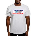 Hemp: Earth's #1 Resource Log Ash Grey T-Shirt
