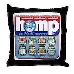 Hemp: Earth's #1 Resource Log Throw Pillow