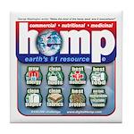 Hemp: Earth's #1 Resource Log Tile Coaster