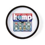 Hemp: Earth's #1 Resource Log Wall Clock