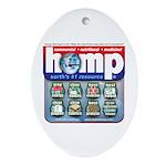 Hemp: Earth's #1 Resource Log Oval Ornament