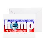Hemp: Earth's #1 Resource Log Greeting Cards (Pack
