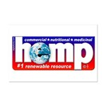 Hemp: Earth's #1 Resource Log Mini Poster Print