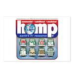 Hemp: Earth's #1 Resource Log Postcards (Package o