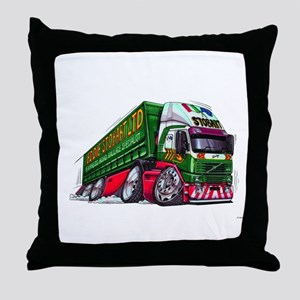 Koolart's Eddie STobart Truck Caricature Throw Pil