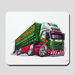 Koolart's Eddie STobart Truck Caricature Mousepad