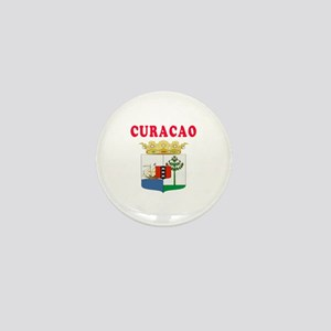 Curacao Coat Of Arms Designs Mini Button