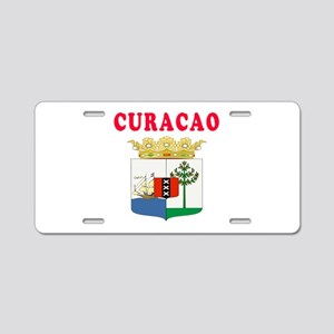 Curacao Coat Of Arms Designs Aluminum License Plat