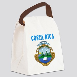 Costa Rica Coat Of Arms Designs Canvas Lunch Bag