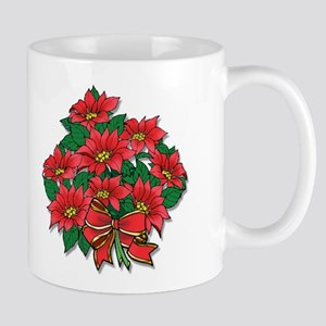 Poinsettia 11oz. Mug