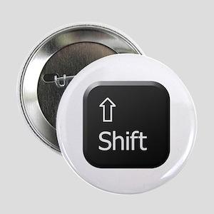 "Black Keyboard Shift Key 2.25"" Button"