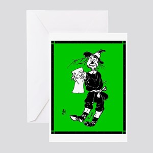Scarecrow 2 Greeting Cards (Pk of 10)