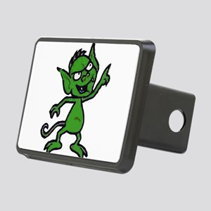 Little Green Man Hitch Cover