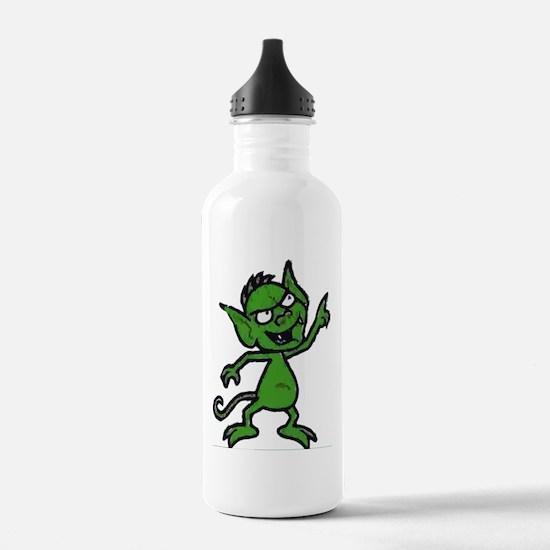 Little Green Man Water Bottle