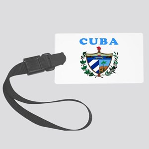 Cuba Coat Of Arms Designs Large Luggage Tag