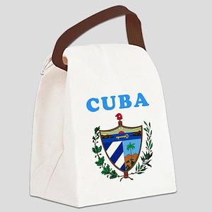 Cuba Coat Of Arms Designs Canvas Lunch Bag