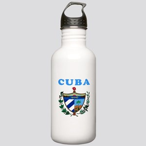 Cuba Coat Of Arms Designs Stainless Water Bottle 1
