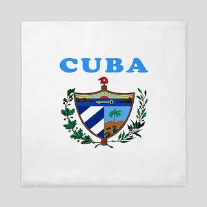 Cuba Coat Of Arms Designs Queen Duvet