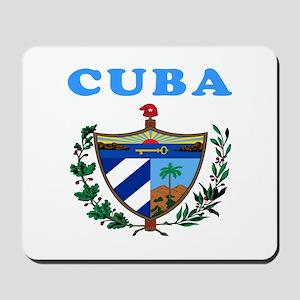 Cuba Coat Of Arms Designs Mousepad