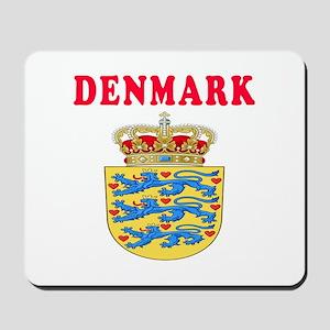 Denmark Coat Of Arms Designs Mousepad