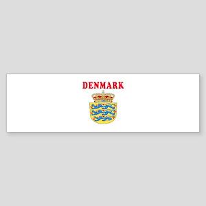 Denmark Coat Of Arms Designs Sticker (Bumper)